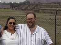 Lucito and Normita at Teotihuacan